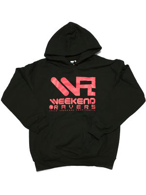 [一点物]WEEKEND RAVERS V.3 LOGO PARKA S SIZE (Black)