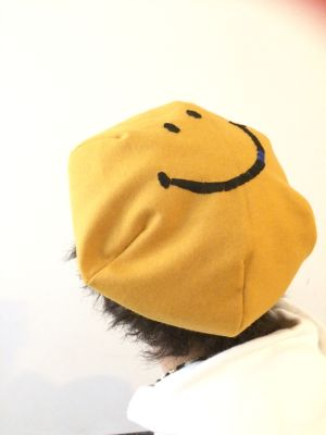 SMILE Beret Yellow