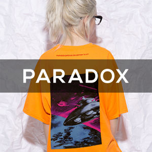"PARADOX - CAPSULE Collection ""U.F.O"" - 01(ORANGE)"