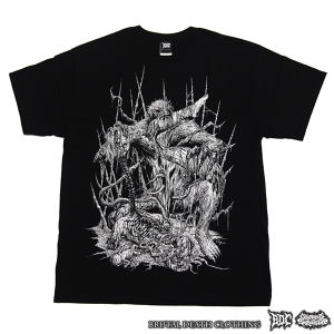 Feast of the Unbirthed (プリントカラー/ホワイト)-Tシャツ (GS-010tee)