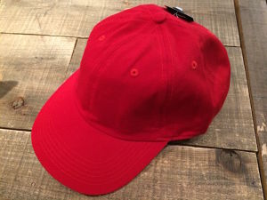NEWHATTAN COTTON CAP RED FREE SIZE