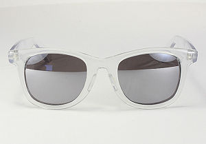 Blues Bros sunglasses, KD#2025 - Clear/G15