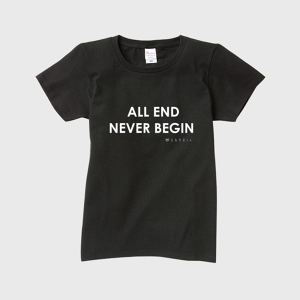 show PRODUCE 「ALL END NEVER BEGIN」 レディース Mサイズ T-SHIRT