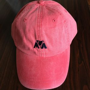 "McMamWell x ADAM'S HAT 6panel Cap ""RED"""