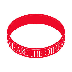 RUBBER BRACELET Red
