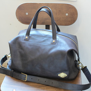 2way Boston Bag / BLACK
