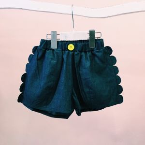 WAVE DENIM SHORT PANTS