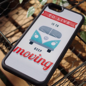 iPhone6sケース [I6SRKM01] VW BUS KEEP MOVING
