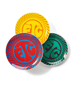 【FTC】PSYCHEDELIC PLATE