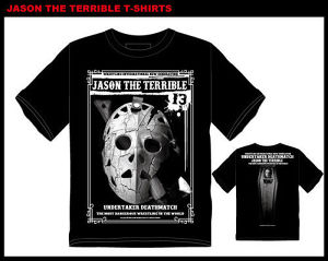 XXL JASON THE TERRIBLE T-SHIRTS