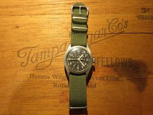 80's HAMILTON × L.L.Bean Vintage Watch