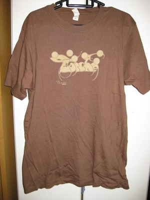TORCHE brown T-SHIRT [M] USED