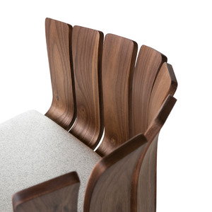 038 Flower Cup Chair | walnut