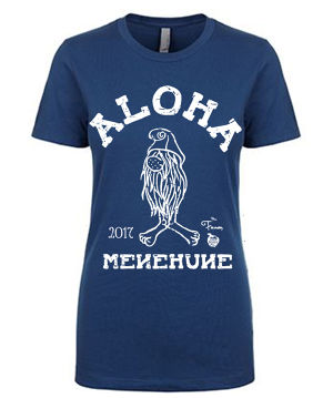 [WOMAN] MENEHUNE TEE NMC x the Fanon SPECIAL EDITION COOL BLUE