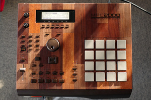 "MPC2000 ""mosaic"" customized by ghostinmpc"