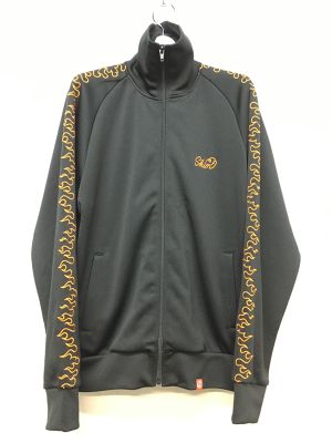 SKIN / FIRE TRACK JACKET -black