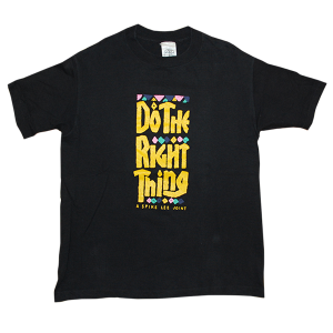 """40acres Do The Right Thing"" Vintage Tee Used"