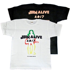JOIN ALIVE × THE JOE STRUMMER FOUNDATION Tシャツ