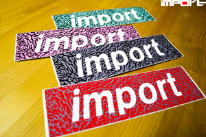 import Original Sticker