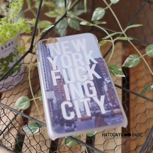 iPhone6Plus / iPhone6s Plusケース [I6PNYF01] NEW YORK FUCK ING CITY