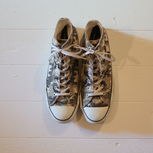 """CONVERSE 1990's ALL STAR """"Made in USA"""" Size13 camouflage"""