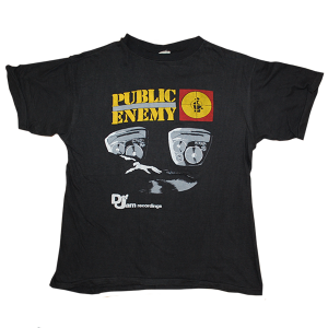 """Public Enemy"" Bootleg Vintage Rap Tee Used"