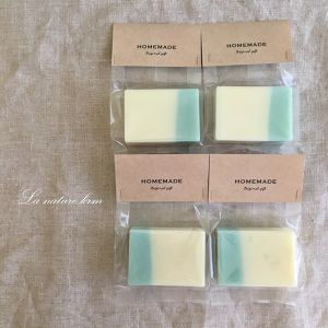 wanco's soap ~plain blue&white~