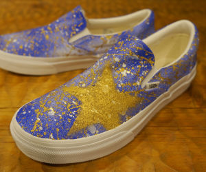 AZI ORIGINAL PAINT VANS SLIP-ON