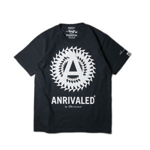 """ANRIVALED by UNRIVALED """"CA-T-SHIRT"""" BLACK"""