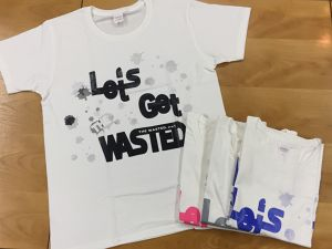 【THE WASTED】Let's get THE WASTED T-shirt