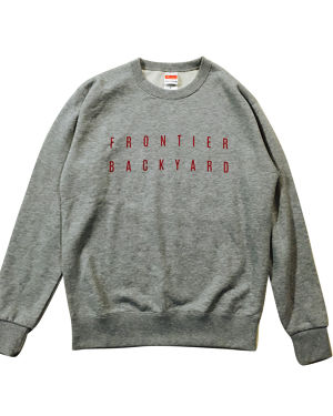 FBY LOGO SWEAT Gray【受注生産商品】