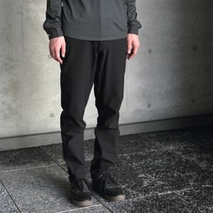 SWRVE durable cotton REGULAR / trousers / black