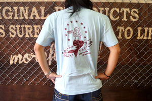 MERMAID PIN UP GIRL TEE