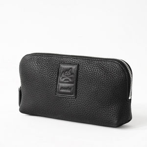 【L size】Leather Pouch Excela Zip エクセラファスナー使用 レザーポーチ crambox
