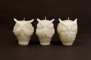 OWL/Silver~Three wise owls~