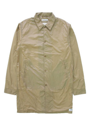 NYLON COAT  BEIGE