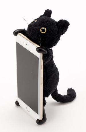 ZOOPY home ネコ クロ 【6s Plus/6 Plus】