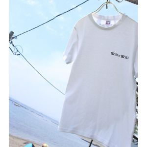 WillxWill logo T-shirts【White】