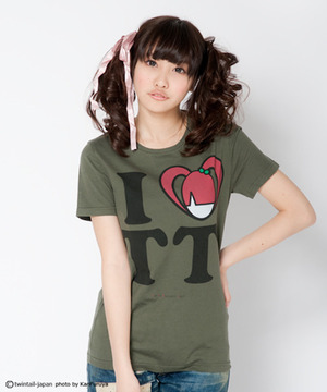 I LOVE TT T-shirts(Green)