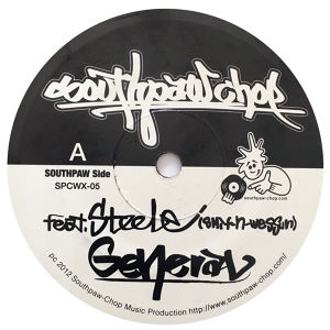 General feat.Steele from Smif-N-Wessun/Invader 7inch Vinyl