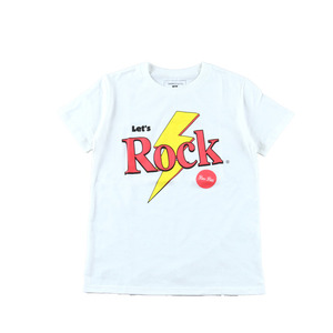 LeT' ROCK TEE(OFF-WHITE)