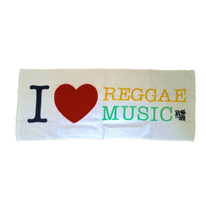 【タオル】I LOVE REGGAE MUSIC