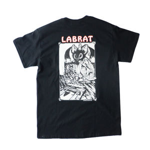 "LABRAT×Peter Paquin ""Rat Killer"" Tee 黒"