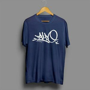 胎動 T-shirt  (INNTANA DESIGN)  NAVY