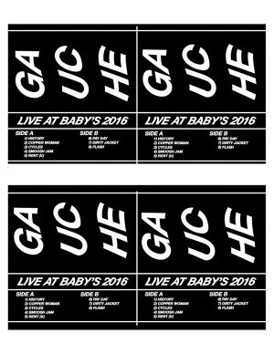 Gauche / LIVE AT BABAY'S 2016 cassette