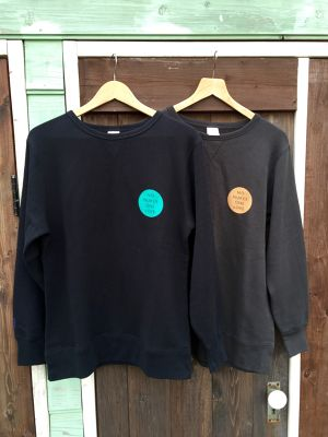 "NO NUKES ONE LOVE  Sweat ""Oval"""