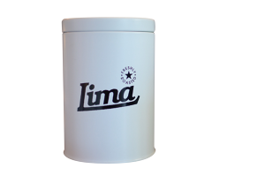 LIMA COFFEE CAN WHITE