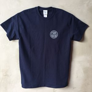 YONZY [FOuR GOOD] Tシャツ designed by hemlen NAVY