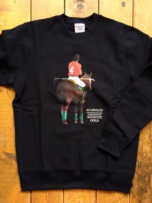 [ ACAPULCO GOLD ] POLO CLUB CREWNECK