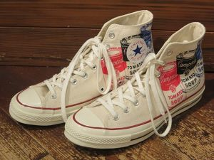 NEW CONVERSE × Andy Warhol ALL STAR